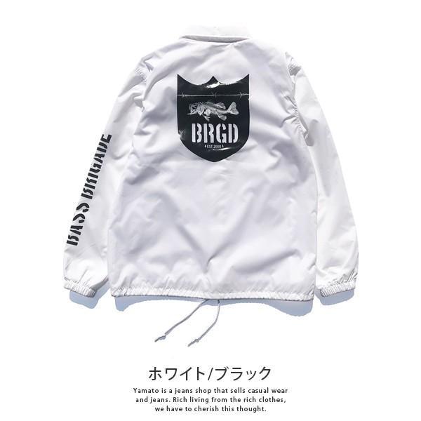 BASS BRIGADE コーチジャケット アウター メンズ バスブリゲード ブラックバス バス釣り フィッシング SSCJ01|jeans-yamato|07