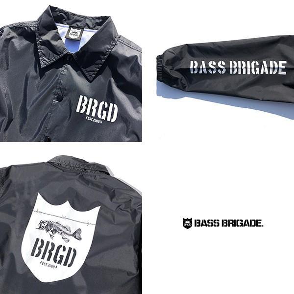 BASS BRIGADE コーチジャケット アウター メンズ バスブリゲード ブラックバス バス釣り フィッシング SSCJ01|jeans-yamato|08