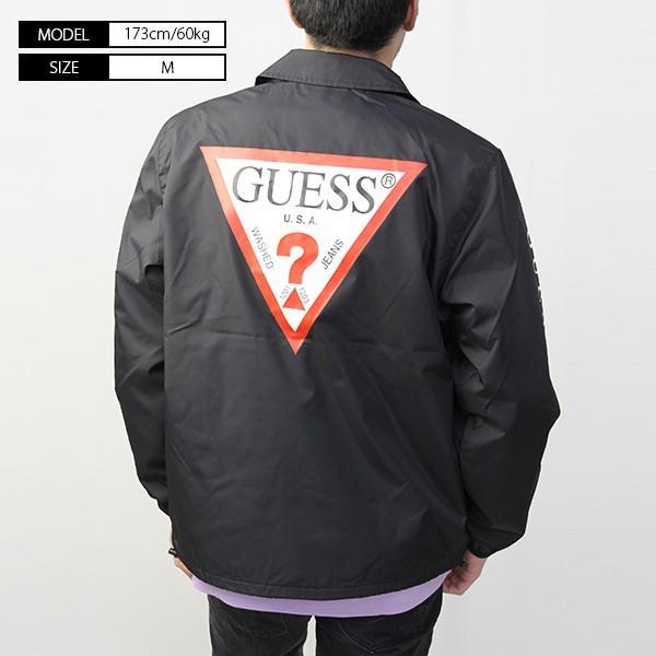 GUESS コーチジャケット ジャケット メンズ ゲス ジャケット アウター MI3W8704OI|jeans-yamato|04