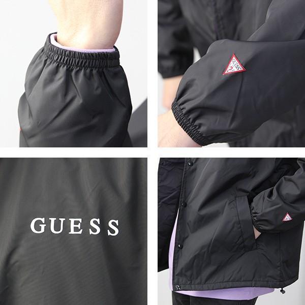 GUESS コーチジャケット ジャケット メンズ ゲス ジャケット アウター MI3W8704OI|jeans-yamato|06