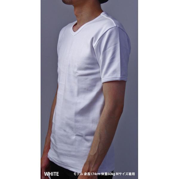 送料無料 ポイント10倍 AVIREX Tシャツ アビレックス Tシャツ Vネック Tシャツ 半袖 無地 デイリー インナー メンズ DAILY WEAR デイリーウェア 6143501 jeans-yamato 02