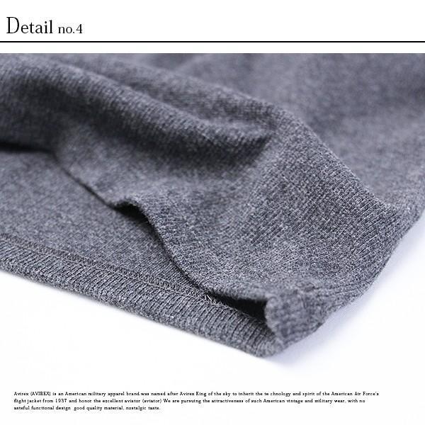 送料無料 ポイント10倍 AVIREX Tシャツ アビレックス Tシャツ Vネック Tシャツ 半袖 無地 デイリー インナー メンズ DAILY WEAR デイリーウェア 6143501 jeans-yamato 11
