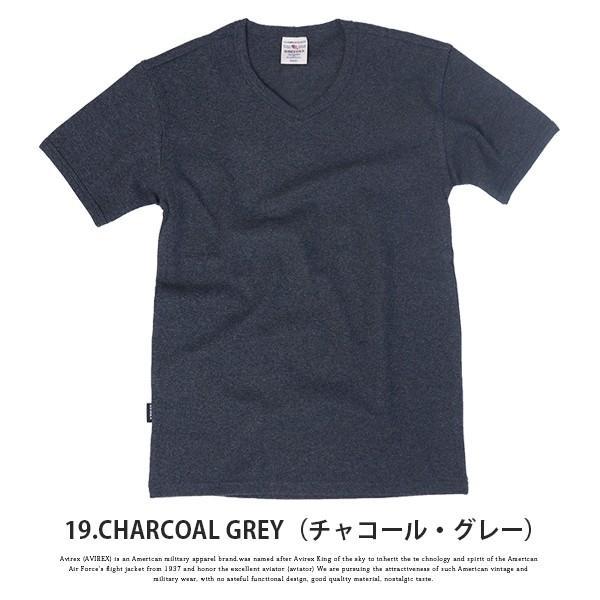 送料無料 ポイント10倍 AVIREX Tシャツ アビレックス Tシャツ Vネック Tシャツ 半袖 無地 デイリー インナー メンズ DAILY WEAR デイリーウェア 6143501 jeans-yamato 15