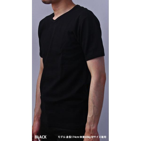 送料無料 ポイント10倍 AVIREX Tシャツ アビレックス Tシャツ Vネック Tシャツ 半袖 無地 デイリー インナー メンズ DAILY WEAR デイリーウェア 6143501 jeans-yamato 03