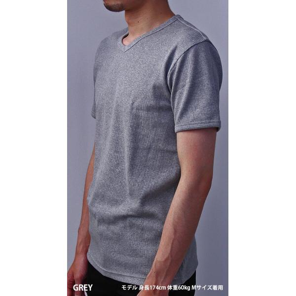 送料無料 ポイント10倍 AVIREX Tシャツ アビレックス Tシャツ Vネック Tシャツ 半袖 無地 デイリー インナー メンズ DAILY WEAR デイリーウェア 6143501 jeans-yamato 04