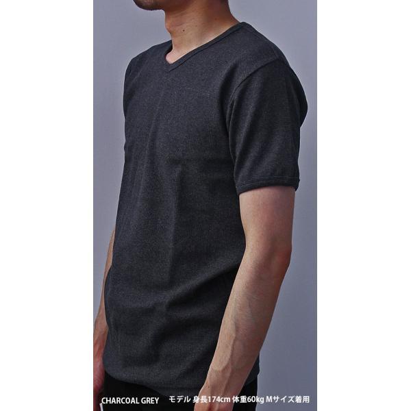 送料無料 ポイント10倍 AVIREX Tシャツ アビレックス Tシャツ Vネック Tシャツ 半袖 無地 デイリー インナー メンズ DAILY WEAR デイリーウェア 6143501 jeans-yamato 05