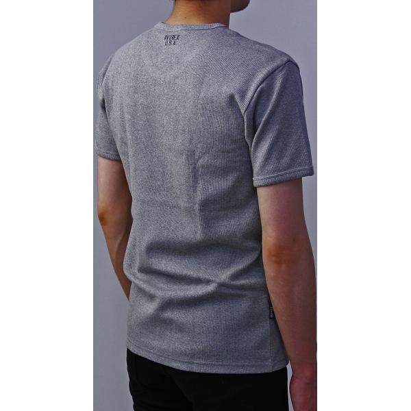 送料無料 ポイント10倍 AVIREX Tシャツ アビレックス Tシャツ Vネック Tシャツ 半袖 無地 デイリー インナー メンズ DAILY WEAR デイリーウェア 6143501 jeans-yamato 06