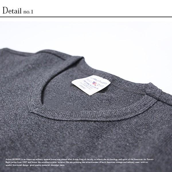 送料無料 ポイント10倍 AVIREX Tシャツ アビレックス Tシャツ Vネック Tシャツ 半袖 無地 デイリー インナー メンズ DAILY WEAR デイリーウェア 6143501 jeans-yamato 08