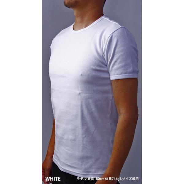 送料無料 ポイント10倍 AVIREX Tシャツ アヴィレックス Tシャツ Uネック Tシャツ 半袖 無地 クルーネック メンズ DAILY WEAR デイリーウェア 6143502|jeans-yamato|02