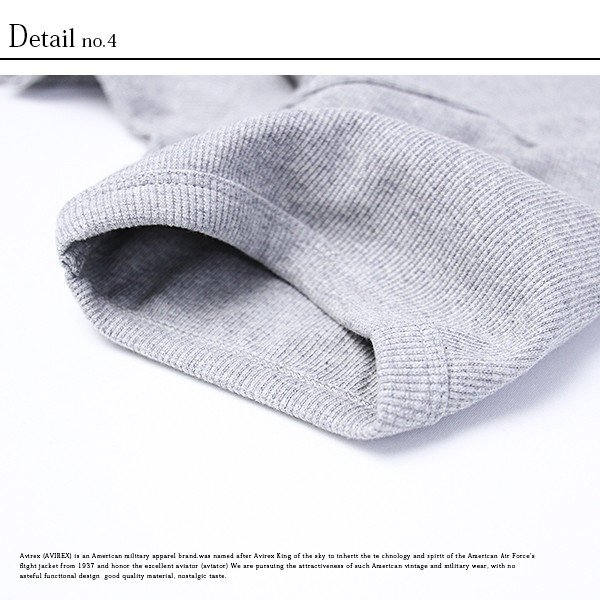 送料無料 ポイント10倍 AVIREX Tシャツ アヴィレックス Tシャツ Uネック Tシャツ 半袖 無地 クルーネック メンズ DAILY WEAR デイリーウェア 6143502|jeans-yamato|11