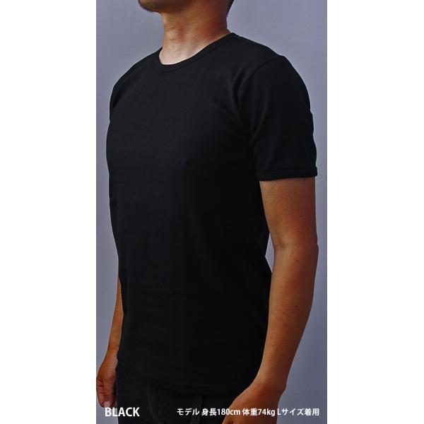 送料無料 ポイント10倍 AVIREX Tシャツ アヴィレックス Tシャツ Uネック Tシャツ 半袖 無地 クルーネック メンズ DAILY WEAR デイリーウェア 6143502|jeans-yamato|03