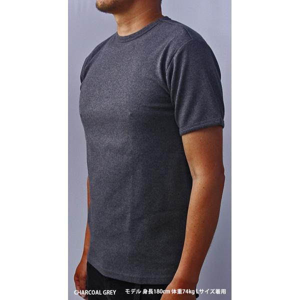 送料無料 ポイント10倍 AVIREX Tシャツ アヴィレックス Tシャツ Uネック Tシャツ 半袖 無地 クルーネック メンズ DAILY WEAR デイリーウェア 6143502|jeans-yamato|05