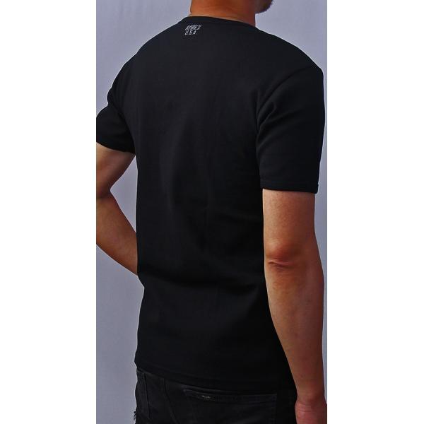送料無料 ポイント10倍 AVIREX Tシャツ アヴィレックス Tシャツ Uネック Tシャツ 半袖 無地 クルーネック メンズ DAILY WEAR デイリーウェア 6143502|jeans-yamato|07