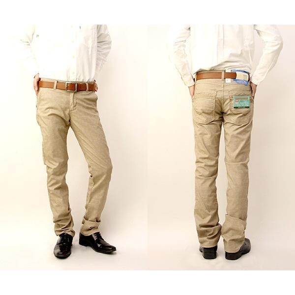 EDWIN エドウィン 403 COOL 春夏限定 403 麻杢 クール フレックス ストレッチ グレンチェック ストレート 日本製 エドウィン ジーンズ メンズ E43FCS|jeans-yamato|02