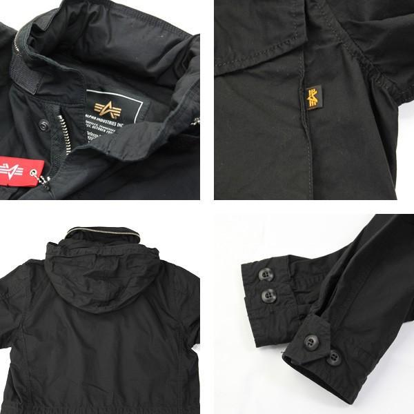 アルファ ALPHA  M-65 フィールド ジャケット コットン ポプリン ミリタリー Cotton Field Jacket TA1119|jeans-yamato|02
