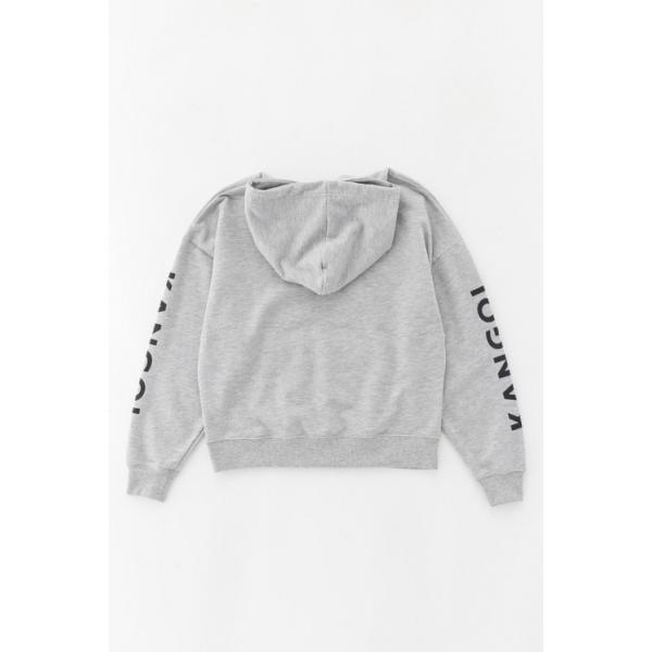 カンゴール スウェット (KANGOL) 裏毛袖プリントプルパーカー|jeansmate|06