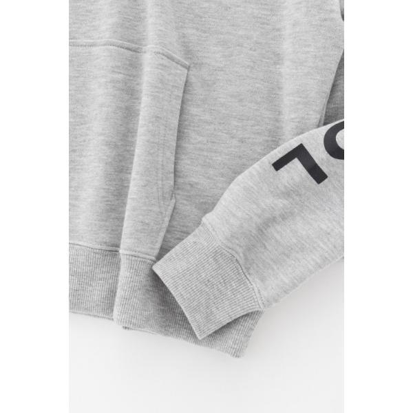 カンゴール スウェット (KANGOL) 裏毛袖プリントプルパーカー|jeansmate|09