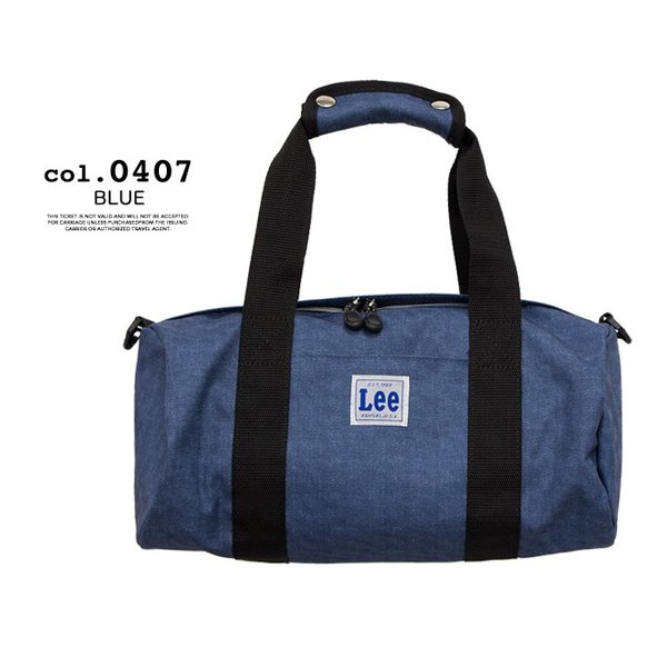 【Lee リー】LIGHT ROLL BOSTON BAG Sサイズ QPER60-039/0421072