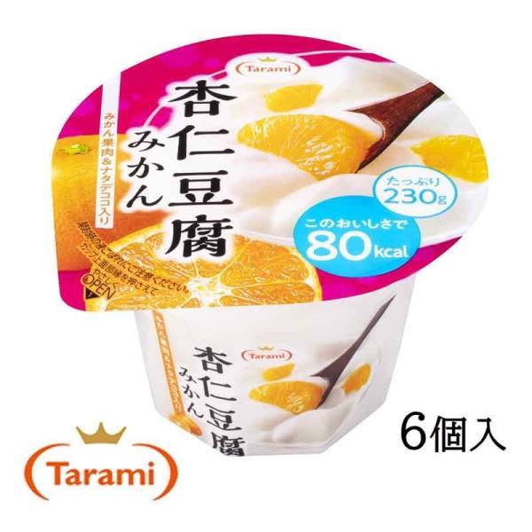 たらみ ゼリー Tarami 杏仁豆腐 みかん 80kcal 230g 6個