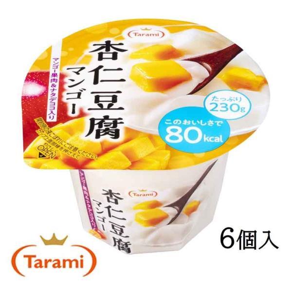 たらみ ゼリー Tarami 杏仁豆腐 マンゴー 80kcal 230g 6個