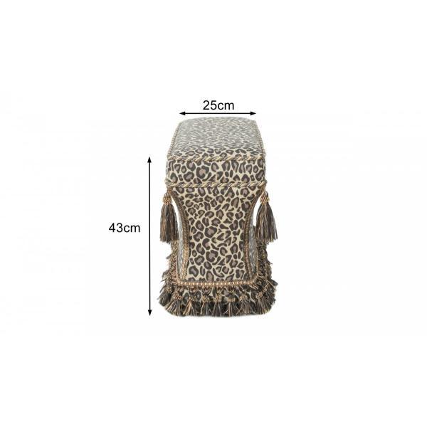 ジェニファーテイラー 薄型 スツール 椅子 イス 玄関 廊下 布 布張り 高級 おしゃれ かわいい Espresso Jennifer Taylor 33030ST-655|jennifertaylor|04
