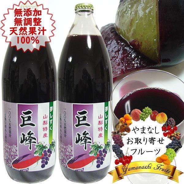 お歳暮 お祝い ギフト 内祝 フルーツジュース 巨峰 ぶどうジュース 1L×2本 詰合せ 送料無料(一部地域を除く)
