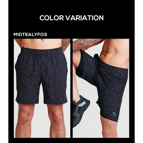 ビーチボディ ショートパンツ 速乾性 ショーツ メンズ スポーツ トレーニングパンツ トレーニング 半ズボン 短パン 半パン カジュアル フィットネス|jerico|08