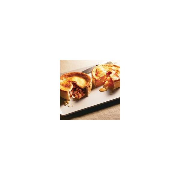 手作りアップルパイ&ミートパイ(2種類ホームサイズ2個入)