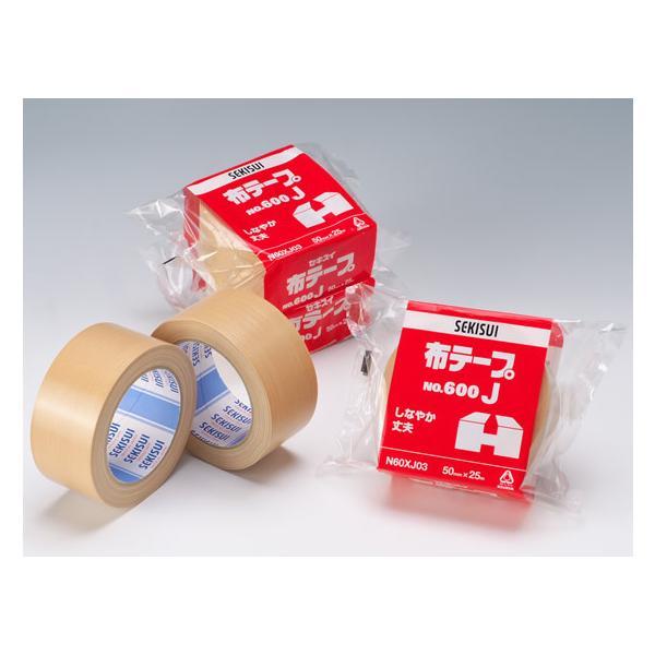 セキスイ/布テープ 600J 50mm×25m 1巻/No.600J