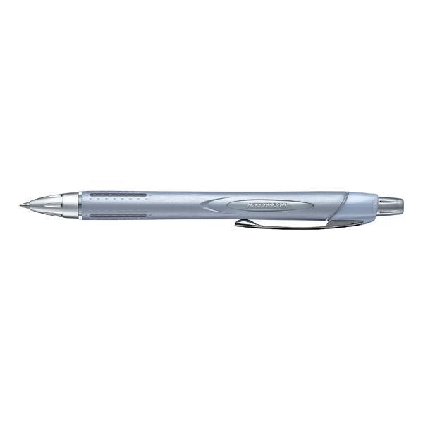 ジェットストリーム ラバーボディータイプ [黒] 0.7mm シルバー SXN-250-07