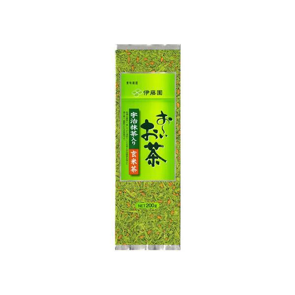 伊藤園/宇治抹茶入り玄米茶 200g|jetprice