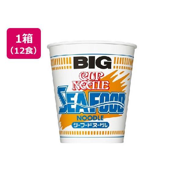 日清食品/カップヌードル シーフードヌードル ビッグ 12食/21055|jetprice