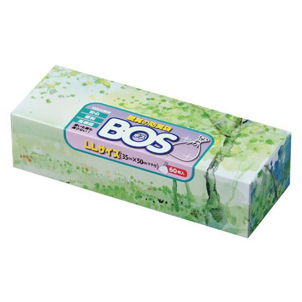 クリロン化成/驚異の防臭袋BOS おむつ処理袋 LLサイズ 60枚