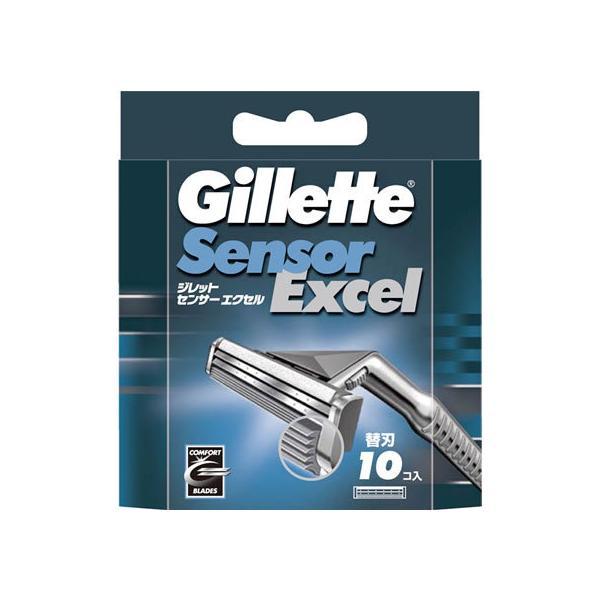 P&G/ジレット センサーエクセル替刃10個入