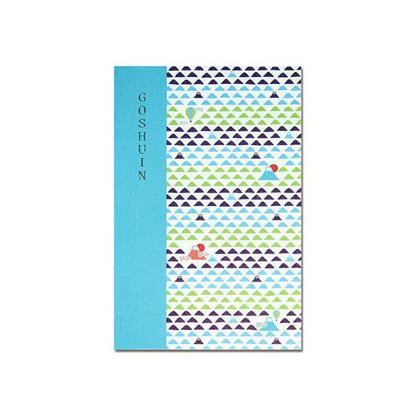 【お取り寄せ】静岡木工/御朱印帳 komon+ うろこ富士 蛇腹式