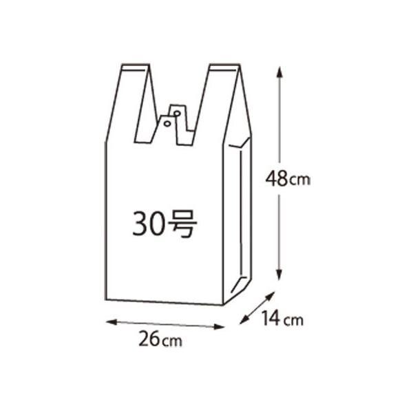 【お取り寄せ】クラフトマン/レジ袋 シルバー 30号(480×260×140mm) 100枚