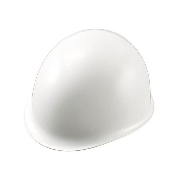【お取り寄せ】加賀産業/ヘルメット つばなし 白/MN-1L-01