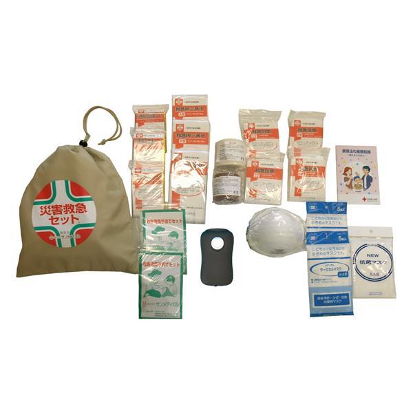 【お取り寄せ】サンメディカル/災害救急セット C001(企業備蓄用)