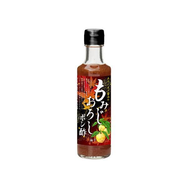 尾崎食品/もみじおろし ポン酢 ゆず 200ml