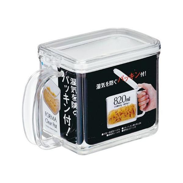 【お取り寄せ】アスベル/フォルマ クリアポット(パッキン付) 2269