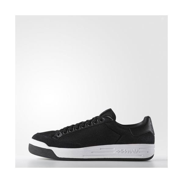 アディダス オリジナルス メンズ ロッドレーバー スニーカー ブラック adidas Men's Rod Laver Shoes|jetrag