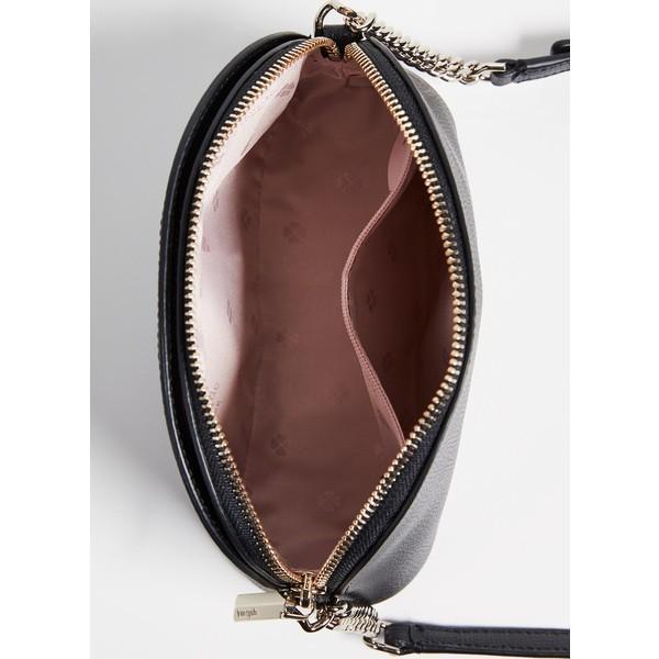 (取寄)ケイトスペード シルビア スモール ドーム クロスボディ バッグ Kate Spade New York Sylvia Small Dome Crossbody Bag Black