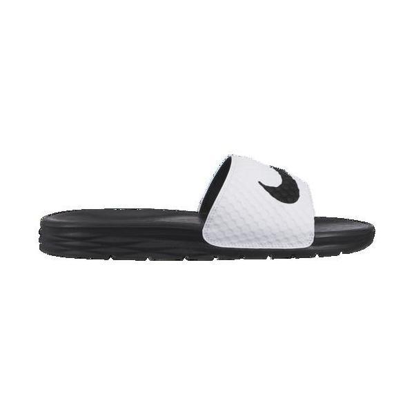 499d702a536149 (取寄)ナイキ メンズ ベナッシ ソーラーソフト スライド 2 Nike Men's Benassi Solarsoft Slide 2 White