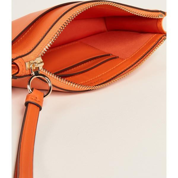 (取寄)トリーバーチ プリティ ジップ リスレット Tory Burch Perry Zip Wristlet OrangeJuice