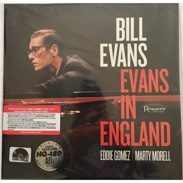 ビル・エヴァンス/エバンス・イン・イングランド
