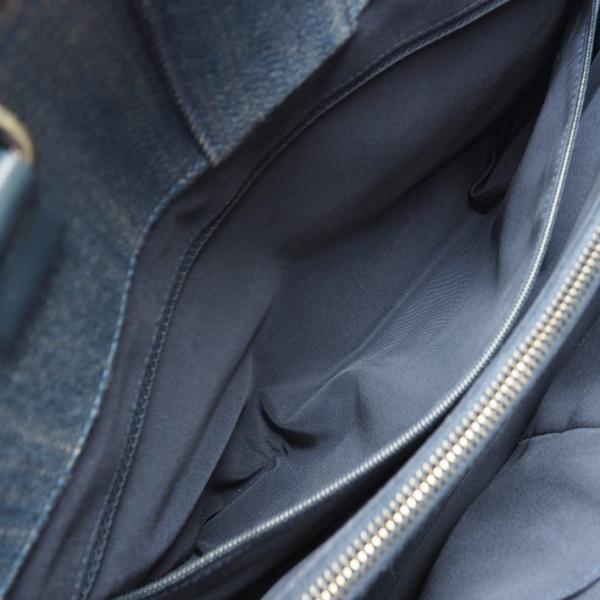 【美品】シャネル Vステッチ ラージトート メタル金具 ボーイシャネル A92773 【トートバッグ】【中古】