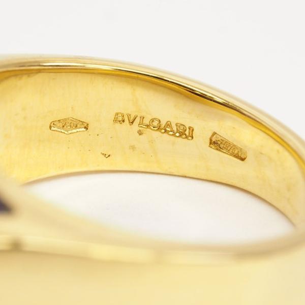 【新品仕上げ済み】ブルガリ MVSA アメシストリング 18金ピンクゴールド【リング】【中古】