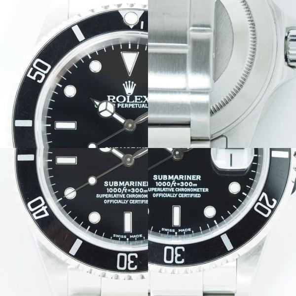 ロレックス サブマリーナ Ref. 16610 メンズ ROLEX SUBMARINER【中古】【腕時計】 jewel-shot 08