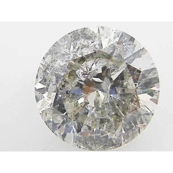 大粒 1.5ct ダイヤモンド ルース 1.598ct J I1 GOOD
