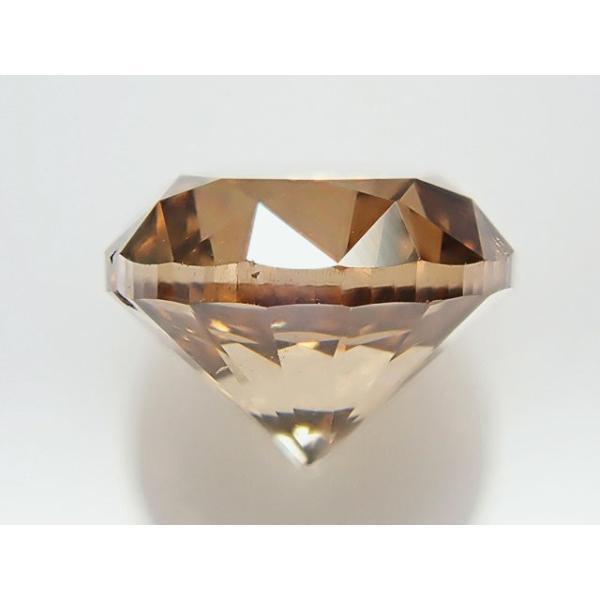 大粒 1.5ctアップ ブラウンダイヤモンド ルース 1.616ct FANCY BROWN SI2